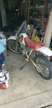 white and red motocross dirt bike Bowie, 20715