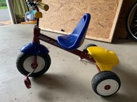 Toddler's blue and red radio flyer trike Gaithersburg, 20878