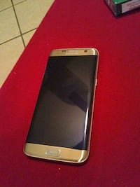 gold Samsung Galaxy S7 edge Austin, 78744