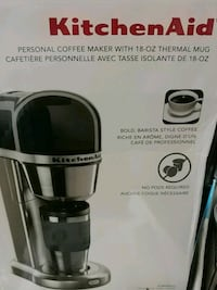 NEW KITCHENAID  COFFEE WITH THERMAL MUG