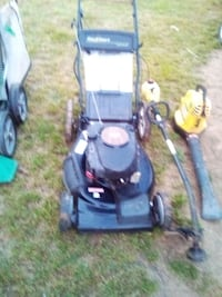 Craftsman self driven mower with bag