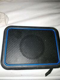 Water proof blue and black portable speaker  Port Moody, V3H 4C8