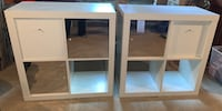2 IKEA Kallax Shelf units with drawers and mirror cabinet drawer Linganore, 21774
