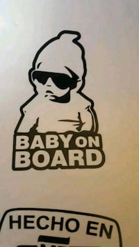 Baby on board decal any size  Santa Ana, 92704
