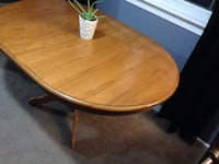 Table,solid oak,with one leaf,measurements in pictures