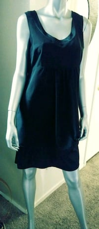 women's blue sleeveless dress 2060 mi