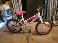 Girls bike 18""