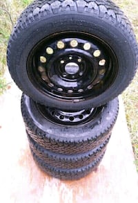 195-60-R15 SNOW TIRES ON RIMS Barrie, L4M 1A4