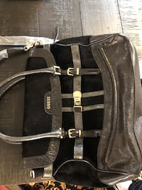 Guess Fur Black Bag Never Used Brand New