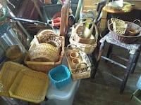 All types of wicker baskets from small to large  Washington, 20018