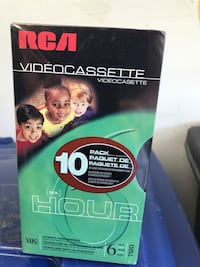VHS Tapes - 10 Pack - New Ashburn, 20147