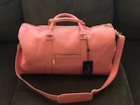 Pink leather overnight bag Hagerstown, 21740