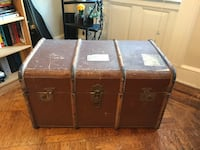 Antique 1940s Trunk New York, 11216