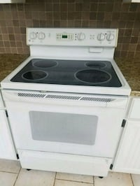 white and black induction range oven Chagrin Falls, 44022
