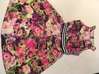Floral dress by design lab  Montreal, H8T 3M1