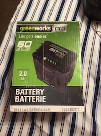 Brand new 60v rechargeable battery Edmonton, T5G 1V3
