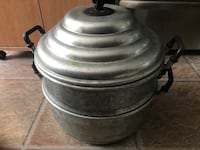 Stainless steel cooking pot steamer Toronto, M1E 1L8