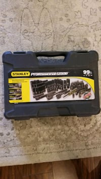 Brand new Stanley professional-grade 99 piece socket set brand new Langley City, V3A 8S1