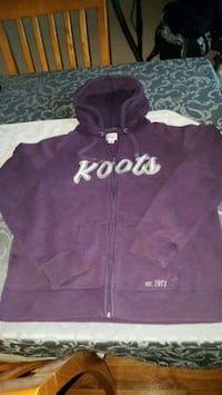 purple and white zip-up hoodie Pickering, L1V 2W1