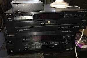 Stereo receiver and disc player