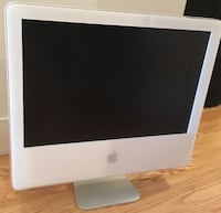 silver iMac with Apple Magic Keyboard Toronto, M5A 1M9