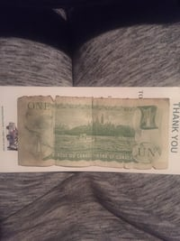 Very Old Canadian $1 Bill (Negotiable) Brampton, L6R 0E1