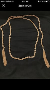 gold-colored chain necklace Morro Bay, 93442