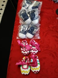 Holiday sale new baby booties