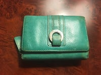 Daniel leather Green leather wallet Montréal, H3H 2J4