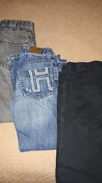 3 Boys skinny jeans Sz 7 to 9 Vaughan, L4L