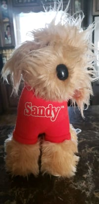 Vintage original 1982 Sandy dog movie Annie