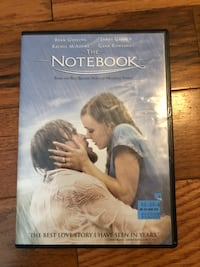 The notebook. Great condition NO scratches