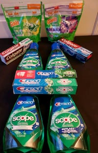 Gain Laundry Detergent Flings and Scope Crest Lot Greater Landover, 20785