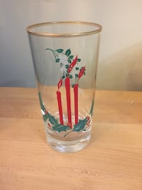 Set of 22 Christmas themes glasses Surrey, V3V 4Y5
