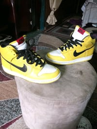 "Nike Dunk High Sb ""wet floor"" size 10"