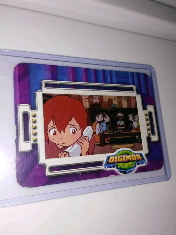 Digimon the movie taco bell cel card promo