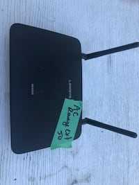 black and gray Linksys modem router Central Okanagan, V4T 1A5