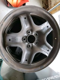 2010 Ford Fusion OEM 4 steel rims.Fits 17 inch tyres $20 OBO Sterling