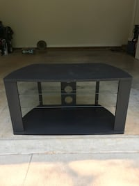 black and brown wooden TV stand Burlington, 27215