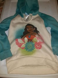 Girls 3t moana hooded pullover Colorado Springs, 80905