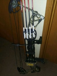 black and gray compound bow Omaha, 68111