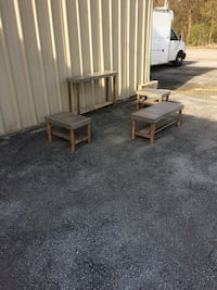 Four Piece Country Table Set