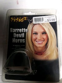 HALLOWEEN: Black clip-in horns Concord, 94520