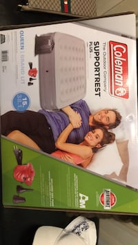 Coleman inflatable mattress with electric pump Vaughan, L6A 2V8