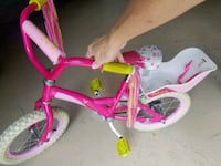 "Lalaloopsy 14"" bike with doll carrier Chantilly"