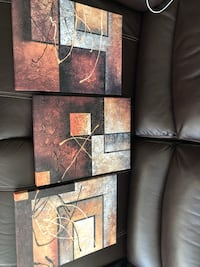 brown and black abstract painting Miami, 33134