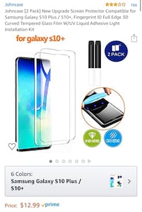 screen protector for samsung galaxy S10 plus