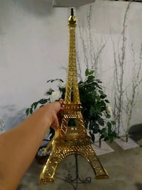 Gold Eiffel Tower 20 inches Dearborn Heights, 48127