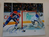 Ryan Smyth Autographed 8x10 Photo  Edmonton, T6L 2K3