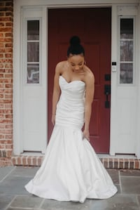 Mermaid wedding dress Fairfax, 22030
